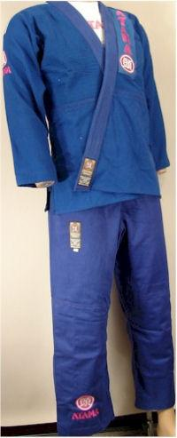Women's Blue Jiu-Jitsu Uniform